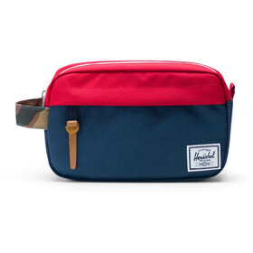 Herschel Chapter Carry On Travel Kit navy/red/woodland camo